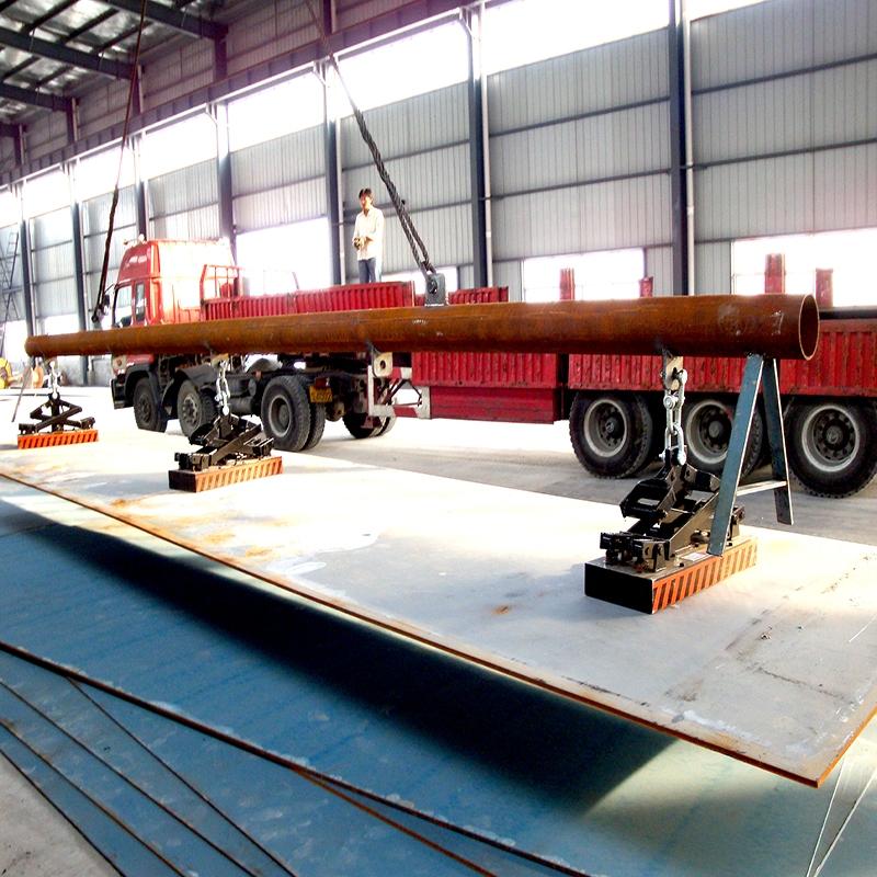 钢材厂永磁起重器案例